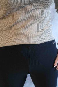 Black Flair Pants
